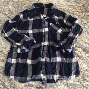Women's Flannel Top